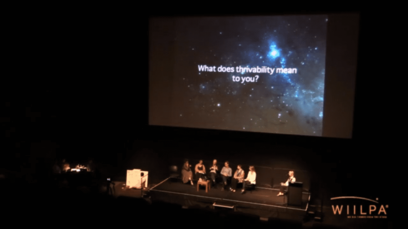Interactive Forum 2015 - ACMI Melbourne - what does thriveability mean to you
