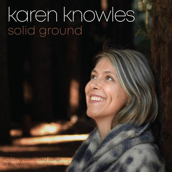 Karen Knowles Solid Ground Album CD