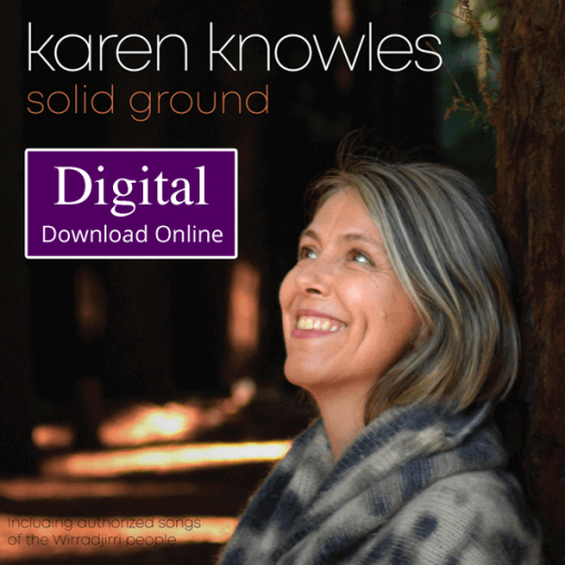 Karen Knowles Solid Ground Album Digital Download